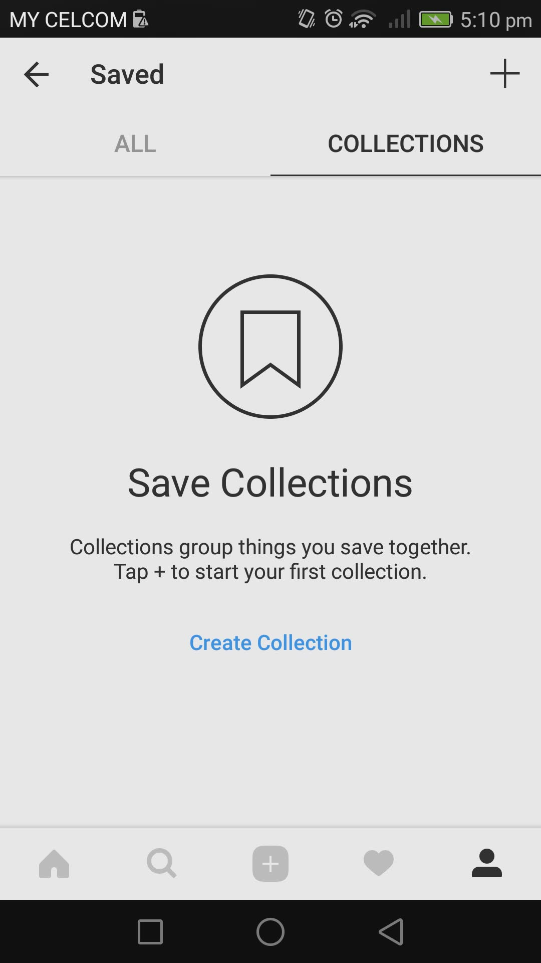 save collections