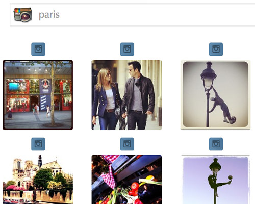 Live Instant Search Web App for Instagram Photos