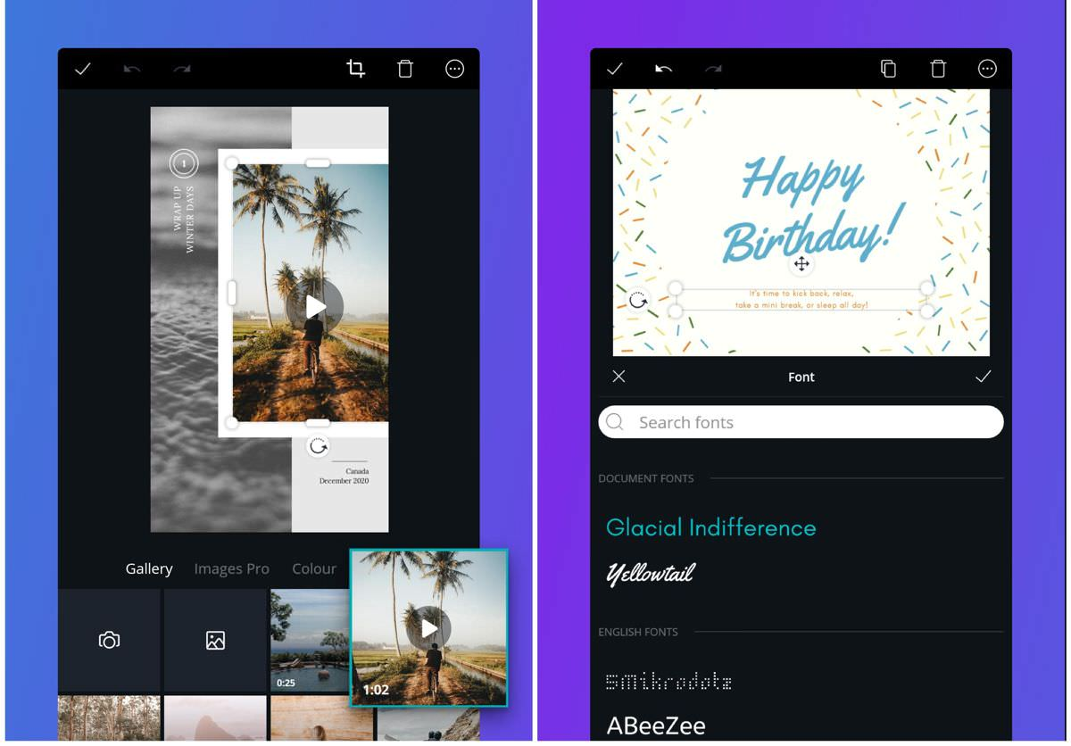 Canva - a design and photo-editing tool