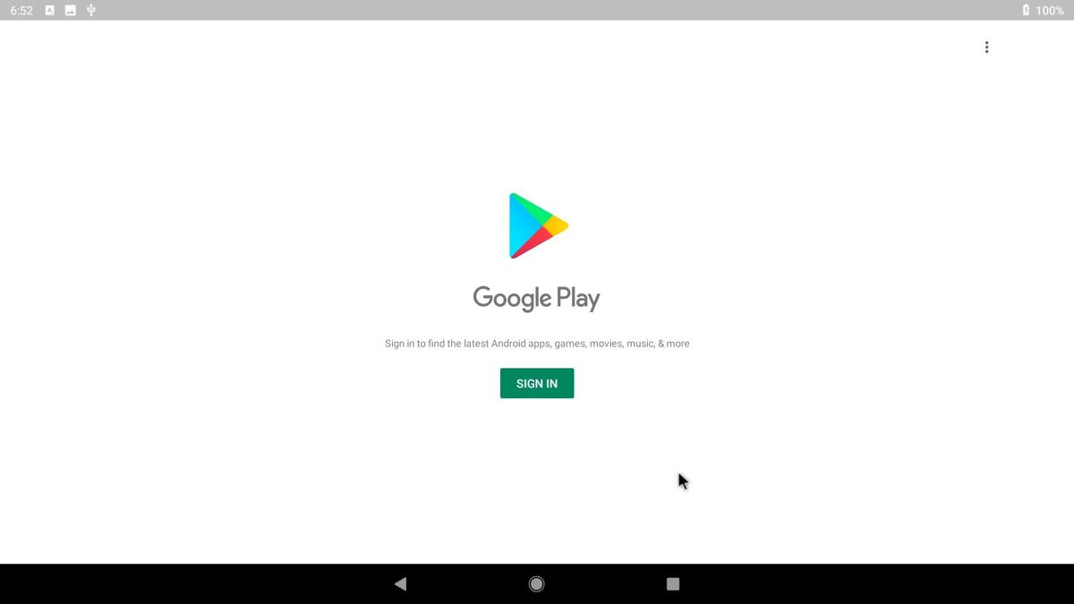 Bliss OS supports Google Play Store