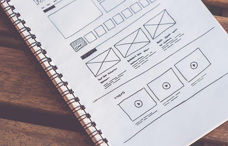 wireframe sketchbook ui layout