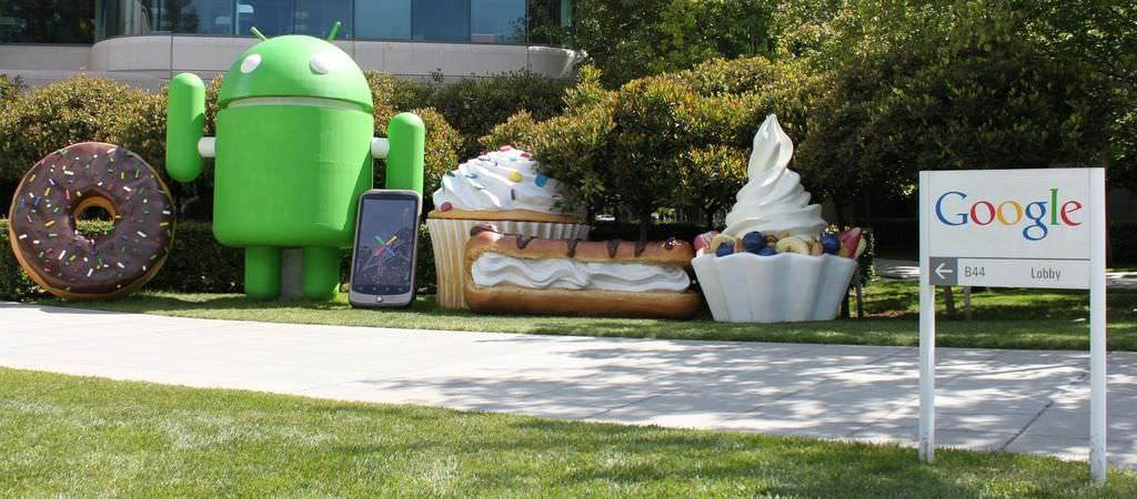 Google's office in Mountain View