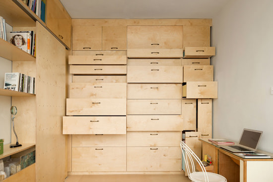 Multi Functional Studio Shelves