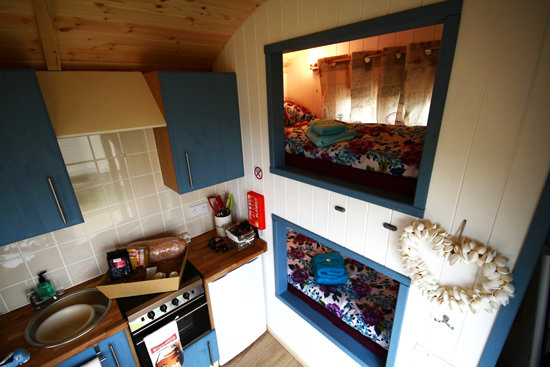 Rhossili Shepherd Hut Back