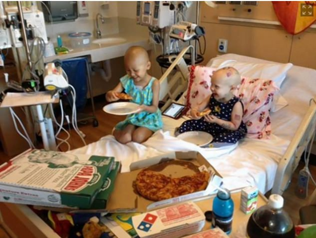 pizza in hospital