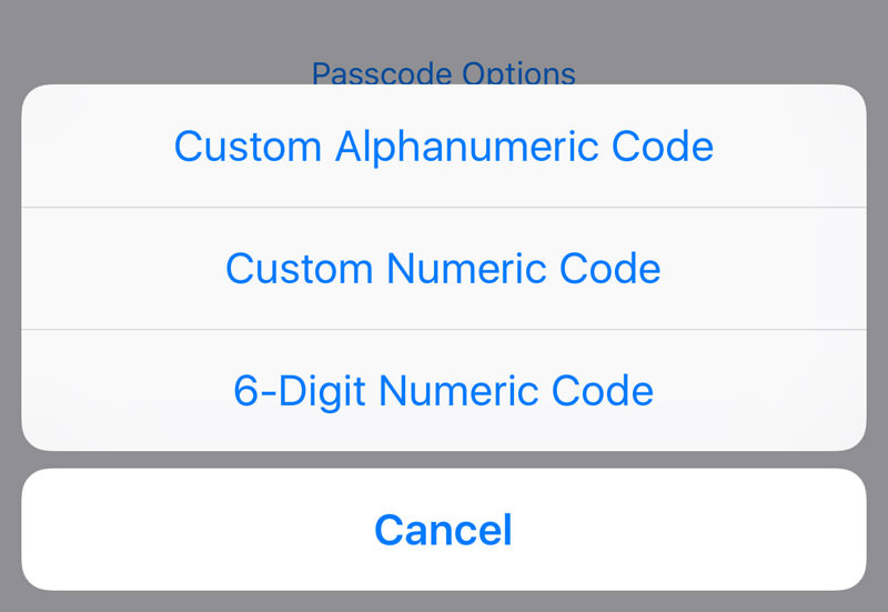 6 digit numeric codes