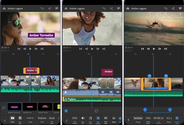 Adobe Premiere Rush for Android and iOS