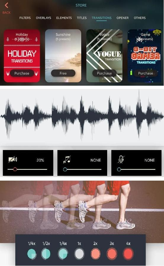FilmoraGo for Android and iOS