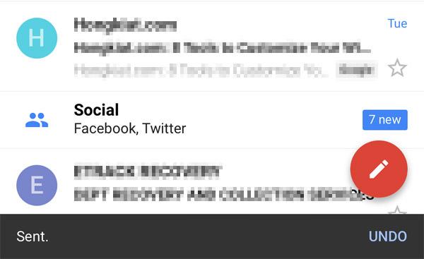 gmail undo sending