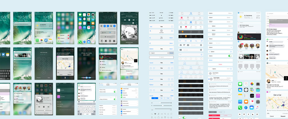 ios 10 freebie kit