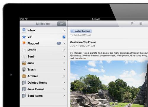mail app vip