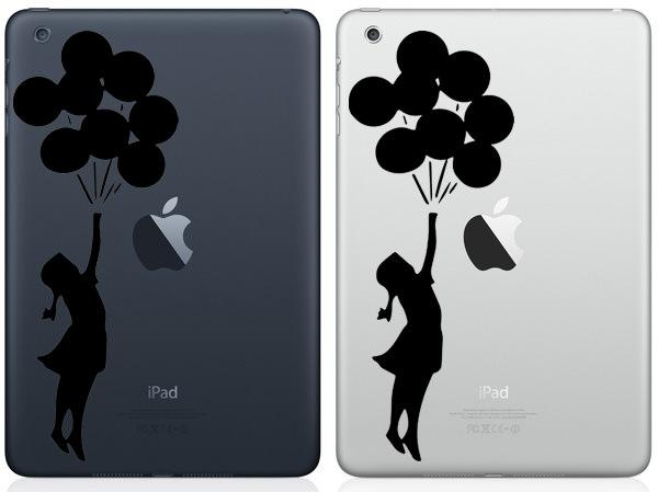 Girl With Balloons iPad Mini Decal