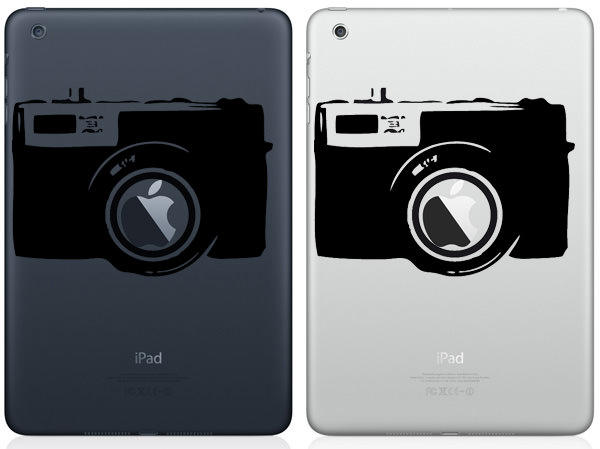 Camera iPad Mini Decal