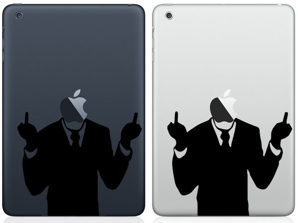 F Off iPad Mini Decal