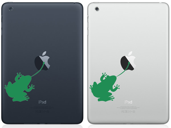 Frog iPad Mini Decal