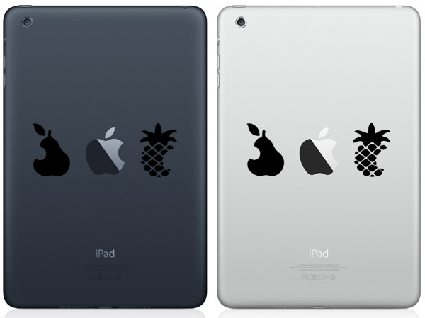 Pear, Apple & Pineapple iPad Mini Decal