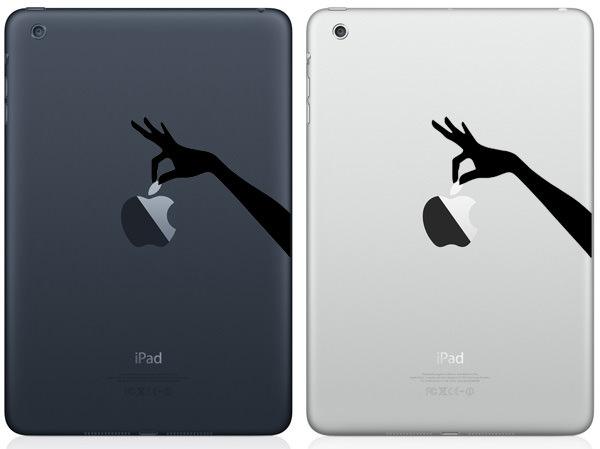 Hand Picking Apple iPad Mini Decal