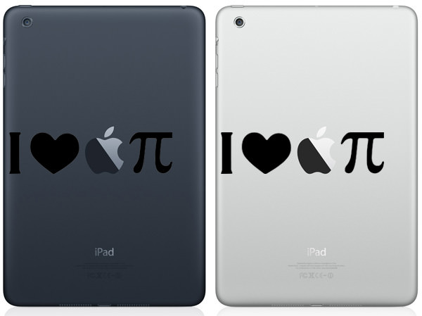 I Love Apple Pie iPad Mini Decal