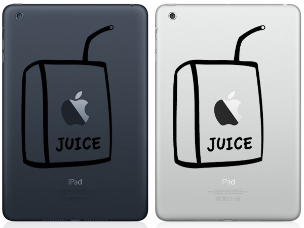 Apple Juice iPad Mini Decal