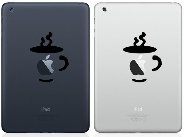 Coffee Cup iPad Mini Decal