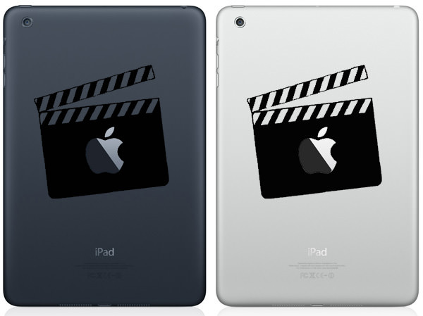 Movie Clapper Board iPad Mini Decal