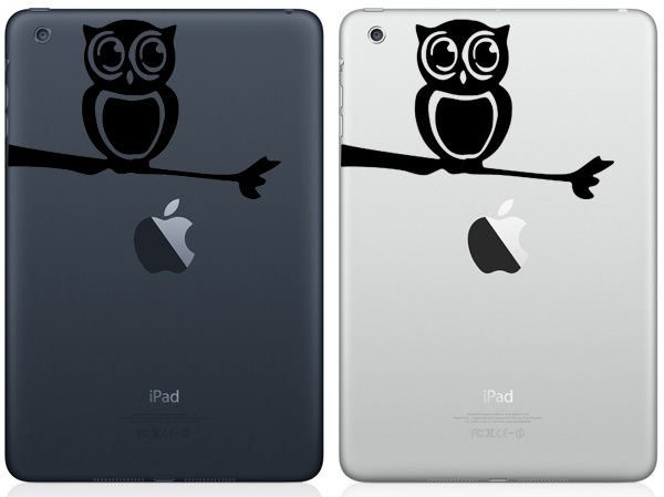 Owl iPad Mini Decal