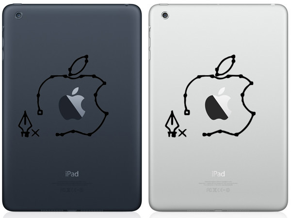 Pen Tool iPad Mini Decal