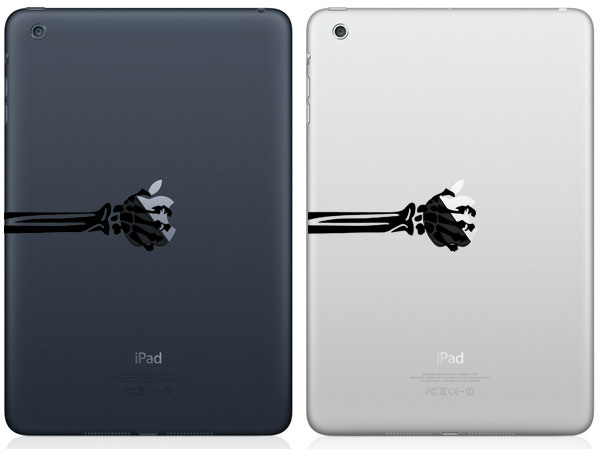 Skeleton Arm iPad Mini Decal