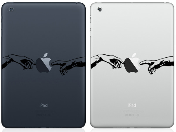 Creation of Adam iPad Mini Decal