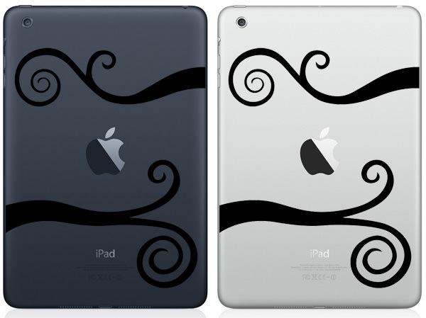 Wavy Scrolls iPad Mini Decal