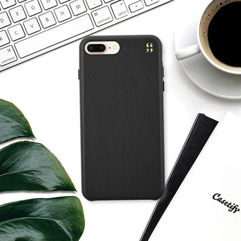 Casetify Initial Leather Case