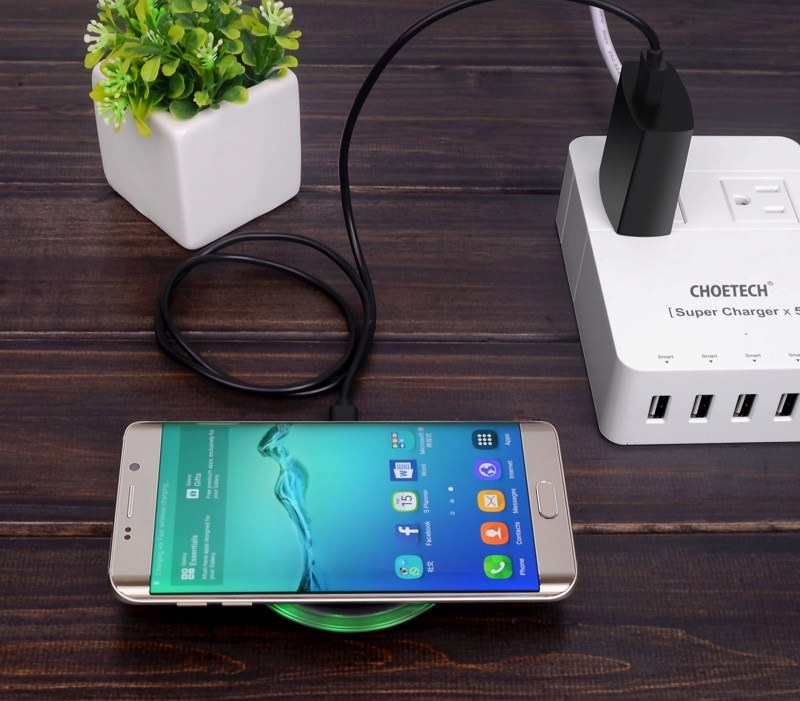 CHOETECH 10W Qi Wireless Charger