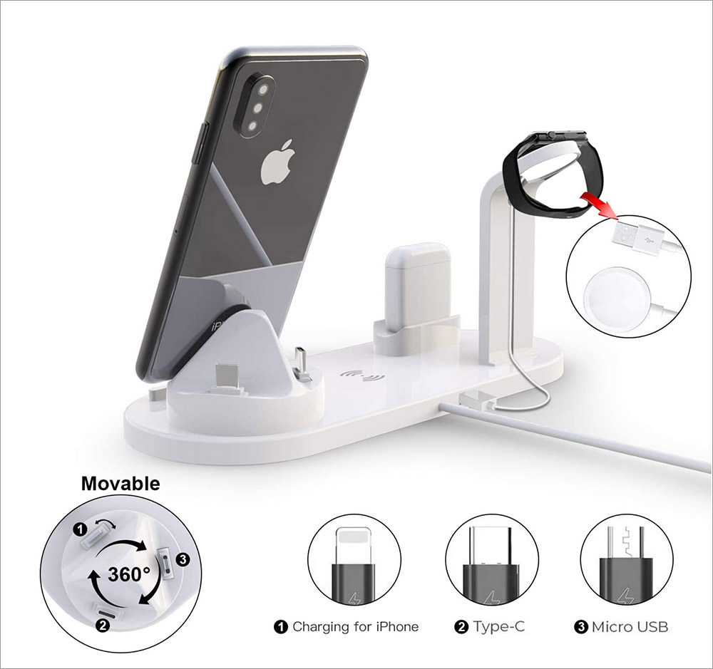 4-in-1 Charging Station