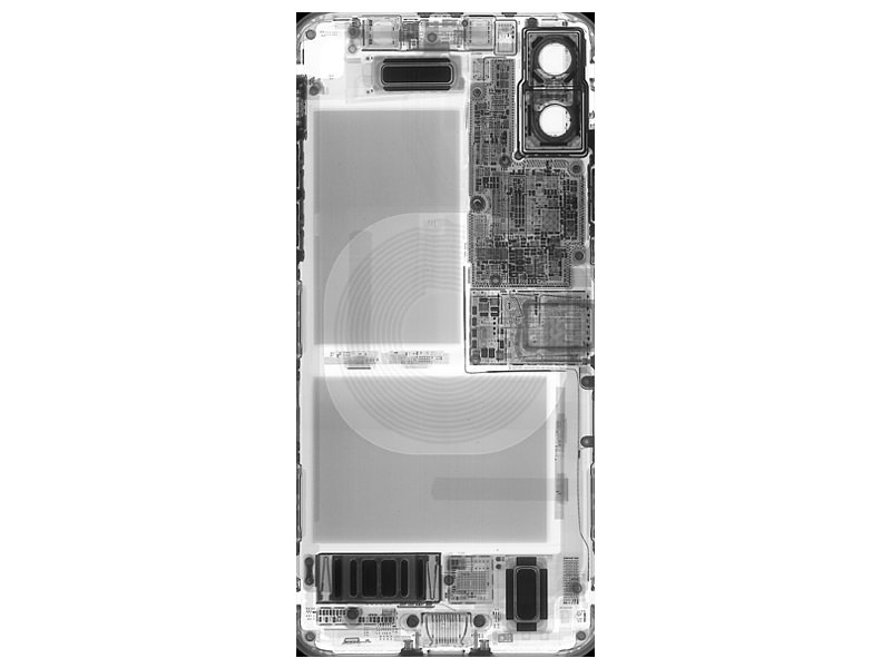 iphone x interior x ray