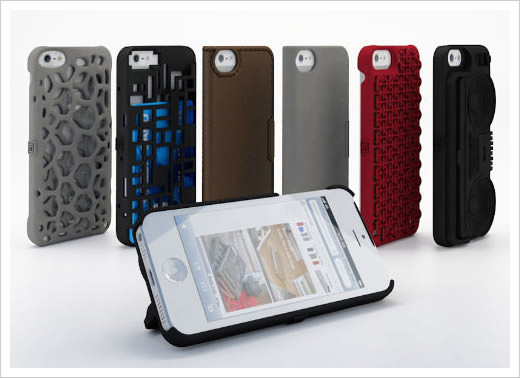 3-D Designer Cases for iPhone 5