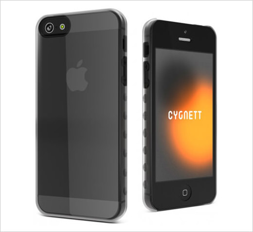 Crystal Clear ergonomic Case iPhone 5
