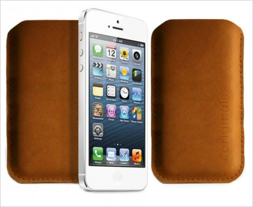 Mujjo iPhone 5 Sleeve Brown