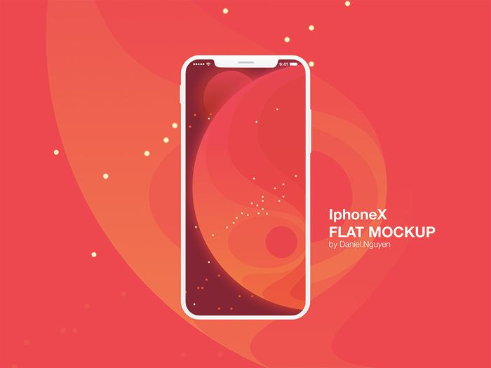 iphone-x-flat
