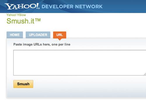 Yahoo! Smush.it compression tool