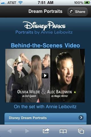 Disney parks mobile