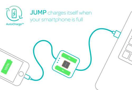 Jump Cable AutoCharge Technology