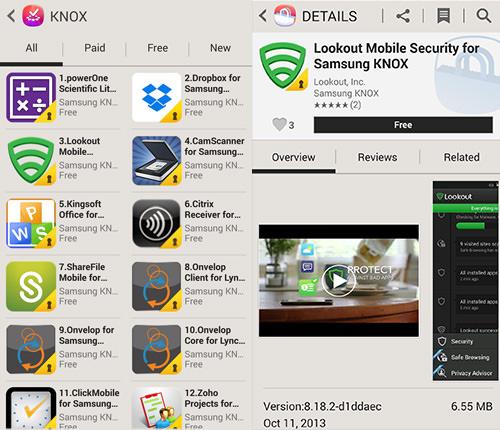 KNOX App Store