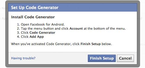 Code generator setup