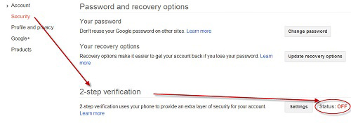 google plus security