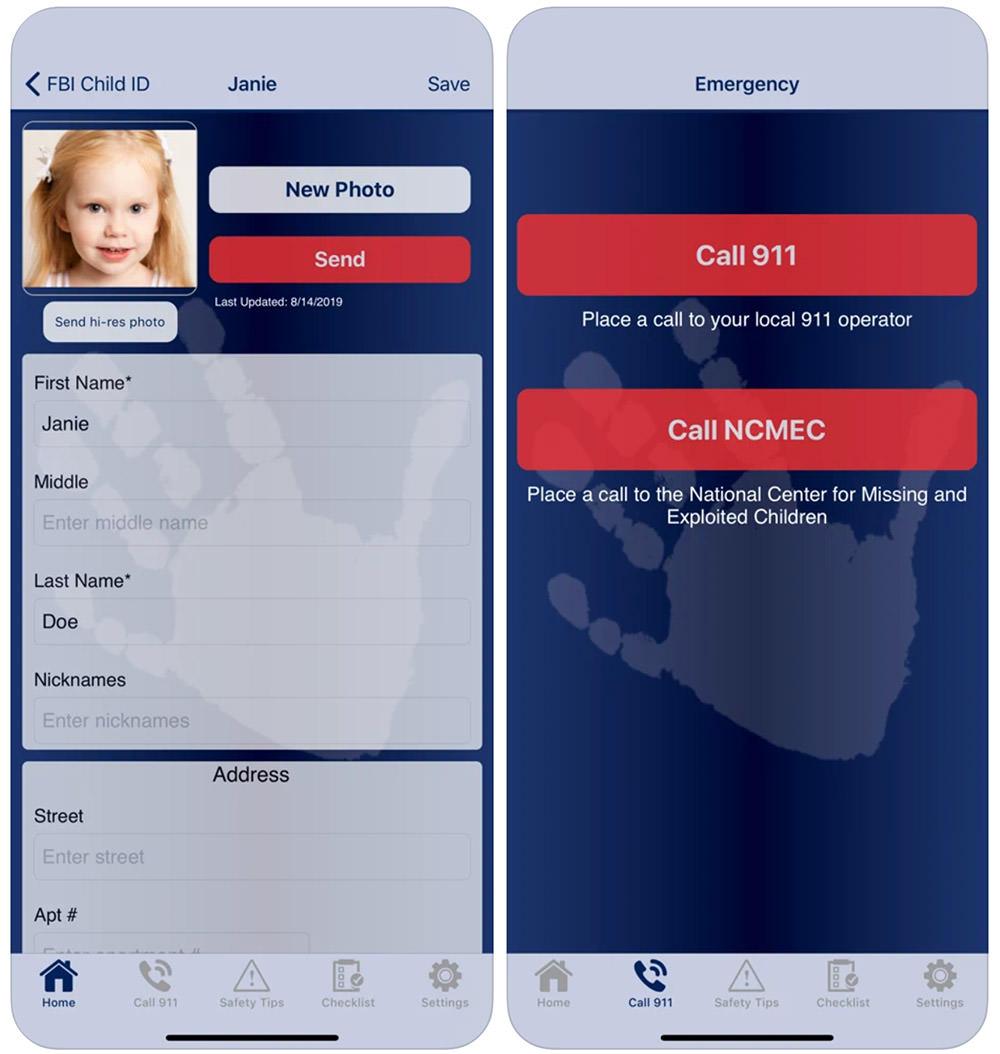 FBI's Child ID