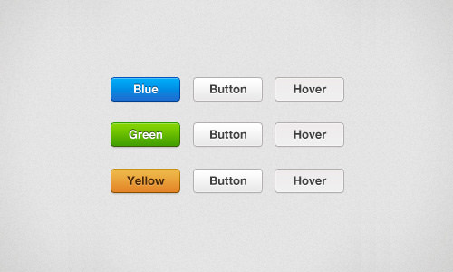 Milky Buttons set download PSD