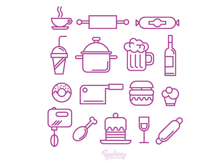 kitchen-supplies-icons