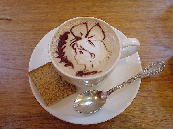 latte art: kiki