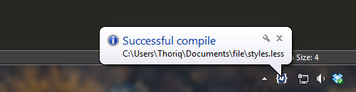 Successful compile