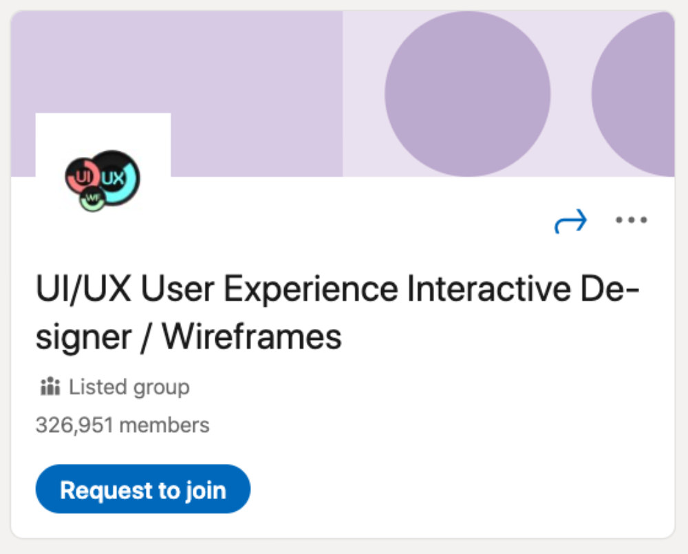 UI/UX User Experience Interactive Designer / Wireframes LinkedIn Group for designers and developers